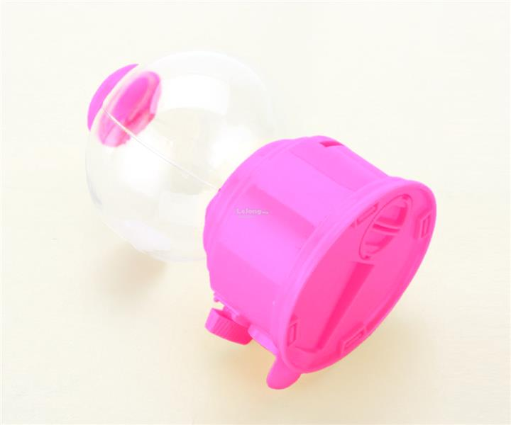 Cute Candy Gumball Vending Machine Money Box (Pink)