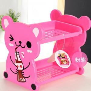 Cute~Cartoon Double Layer Storage Rack