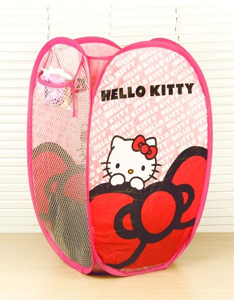 Cute Cartoon Foldable Dirty Clothes Laundry Basket (M)