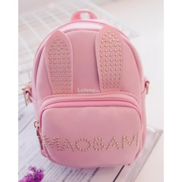 Cute & Casual RABBIT Backpack / Cute Sparkle Gem Backpack [3 colours]