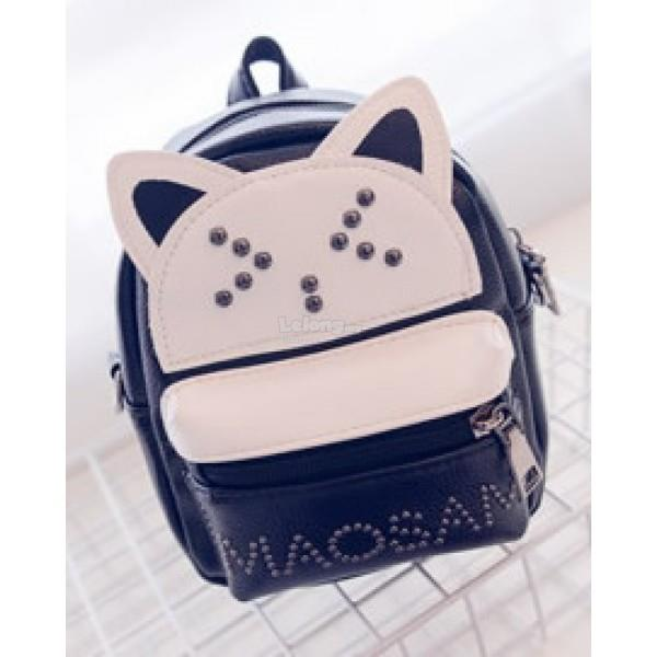 Cute Exquisite CAT FACE Backpack [3 colours]