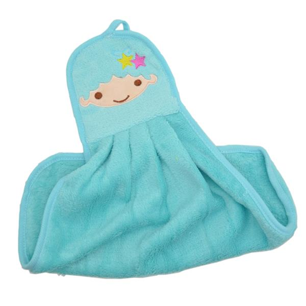 Cute Gemini Fiber Kitchen Rag (Blue)