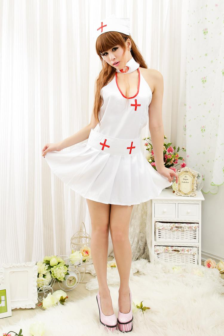 Cute Nurse Sexy Set 4 pcs