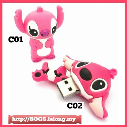 Cute Pen Drive Lady Stitch thumbdrive SanDisk USB 16GB FREE Shipping