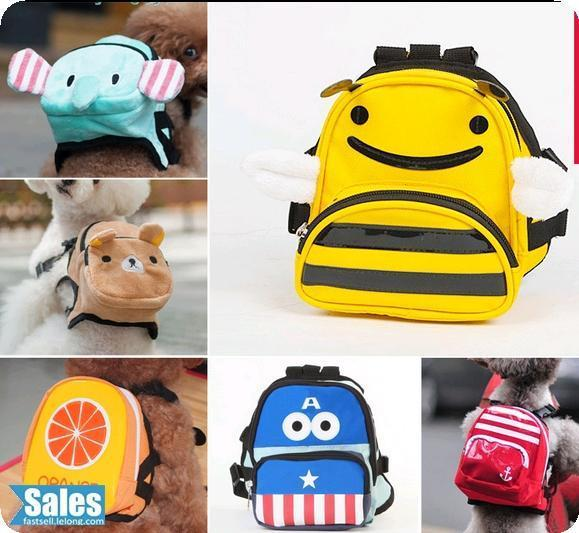 Cute Pet Dog Puppy Cat Bag School Backpack
