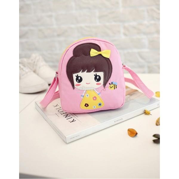 Cute Pinky Sling Bag / Convenient Sling Purse