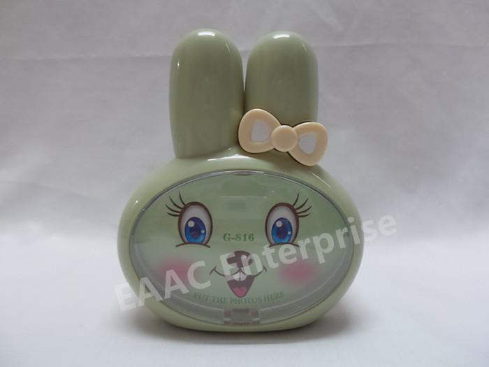 Cute Rabbit Pen Holder Stationery Holder + Photo Frame