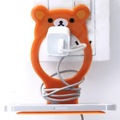 Cute Rilakkuma Phone Charger Holder