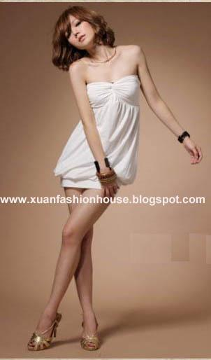 Cute Tube Dress F8805