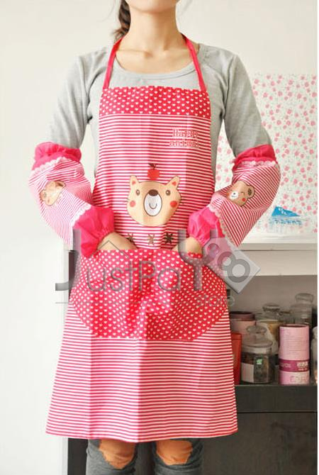 Cutie Apron with Armsleeves