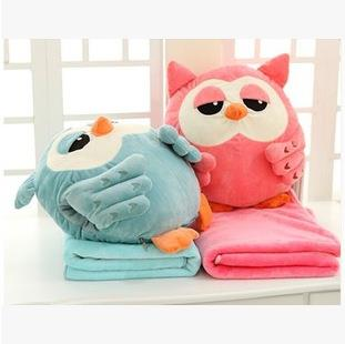 Cutie Owl Huggable Pillow Doll
