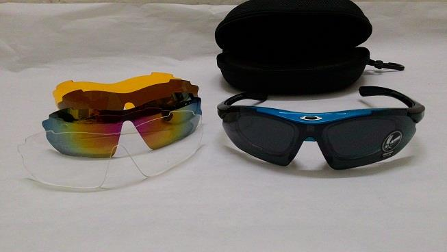 Cycle Sunglasses (suitable for spectacle rider)