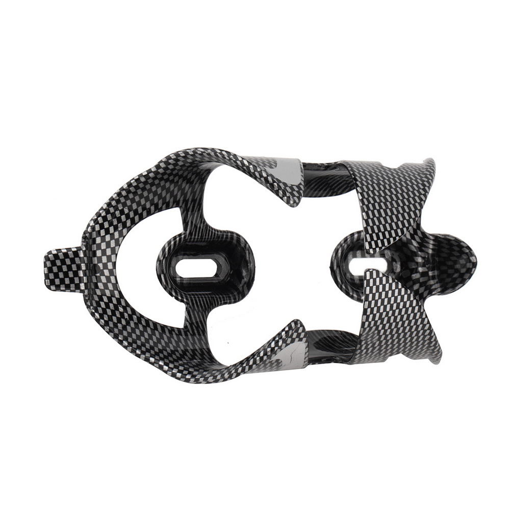 Cycling Bicycle Outdoor Carbon Fiber Water Bottle Drinks Holder Cages ..