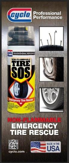 Cyclo 12oz Non-Flammable Tire SOS (Emergency Tire Rescue)