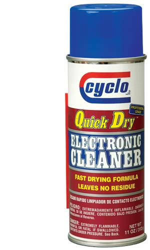 CYCLO C87 QUICK DRY ELECTRONIC CLEANER