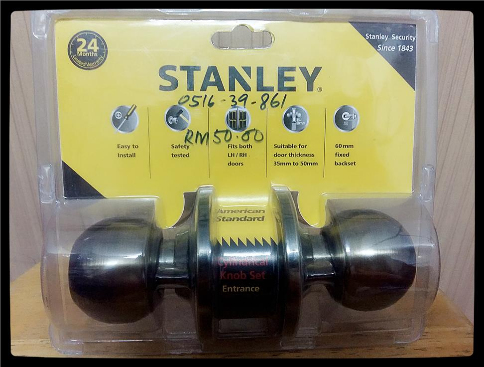 CYLINDRICAL LOCK (STANLEY)