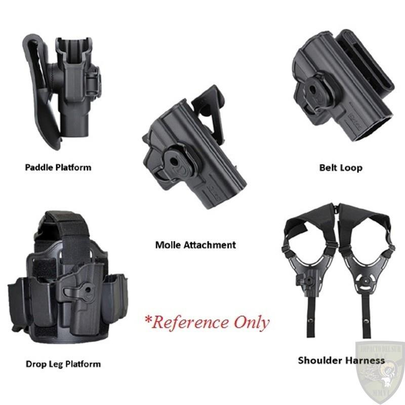 Cytac H&K USP & USP Compact Rotary Holster