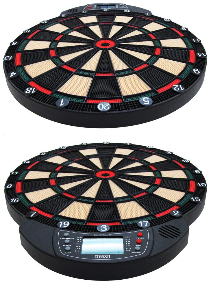D Craft Dart Board - Electronic