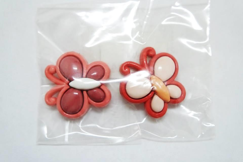 D.I.Y Korean Button - Butterfly