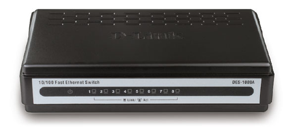 D-LINK 5-PORT STANDARD NETWORK SWITCH (DES-1005A)