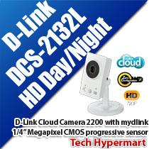D-LINK CLOUD CAMERA 2200 WITH MYDLINK (DCS-2132L)