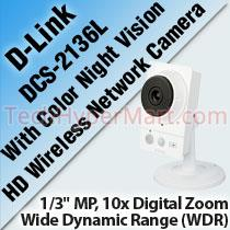 D-LINK DCS-2136L HD WIRELESS NETWORK CAMERA