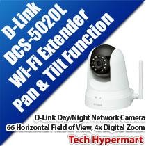 D-LINK DCS-5020L DAY/NIGHT NETWORK CAMERA