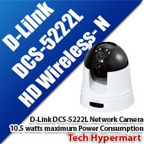 D-LINK DCS-5222L HD WIRELESS-N NETWORK CAMERA
