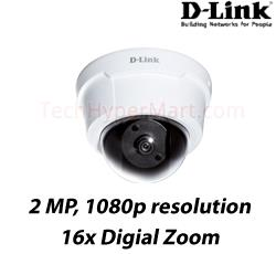 D-Link DCS-6112 Full HD Indoor Dome IP Camera