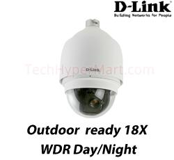 D-Link DCS-6815 WDR D/N Speed Dome IP Camera