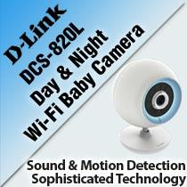 D-LINK DCS-820L DAY & NIGHT WI-FI BABY CAMERA