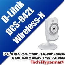 D-LINK DCS-942L MYDLINK CLOUD WIRELESS-N IP CAMERA