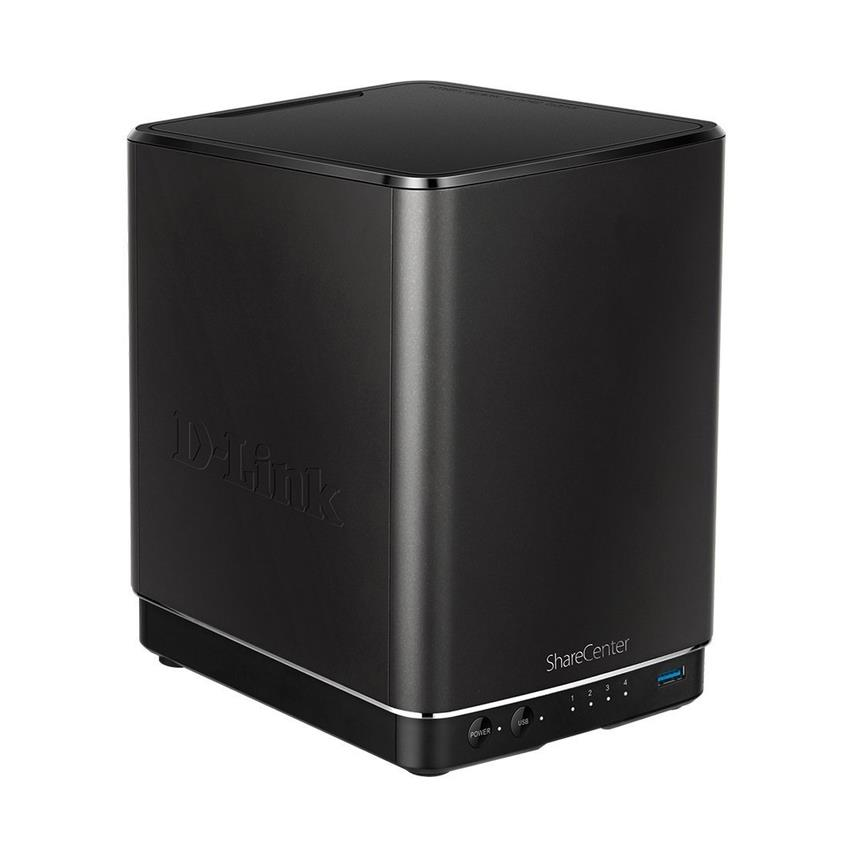 D-Link DNS-340L ShareCenter and 4-Bay Cloud Network Storage Enclosure