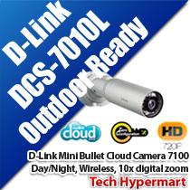 D-LINK MINI BULLET OUTDOOR CLOUD CAMERA 7100 (DCS-7010L)
