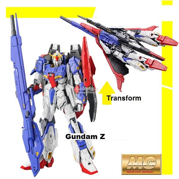 Daban Gundam MG 1/100 Zeta Fighter Z with Stand
