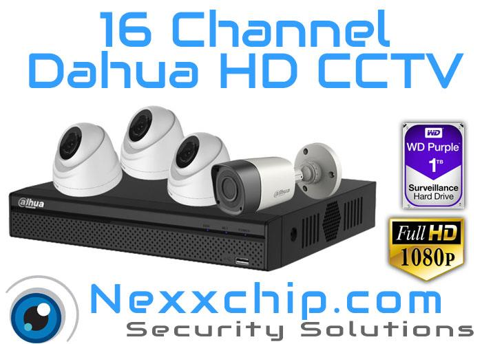 Dahua 16 Channel 2 Megapixel 1080P HD CCTV (with Installation)