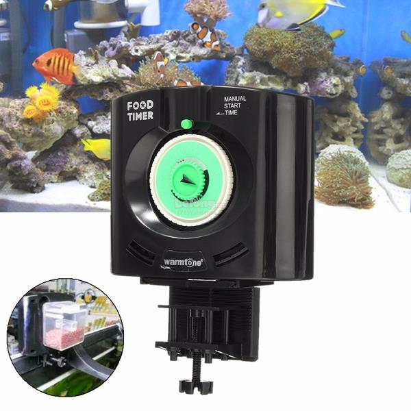 Daily 6 times automatic fish pet f end 12 10 2017 11 15 am for Fish tank feeder