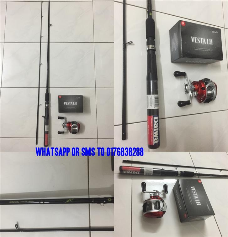 [NEW] Daiwa Banax Casting Fishing Combo Set ( Rod + Reel ) # Full Set