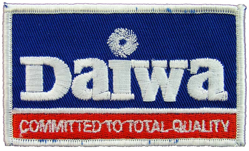 DAIWA FISHING SPORTS EMBROIDERED PATCH