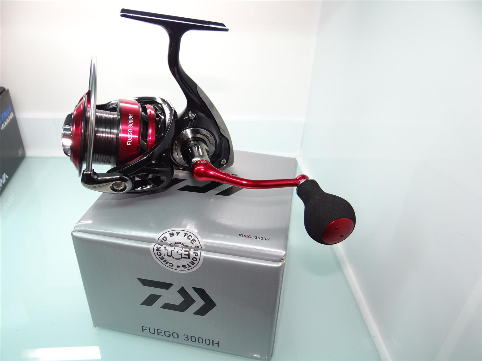 Daiwa Fuego 3000H fishing reel