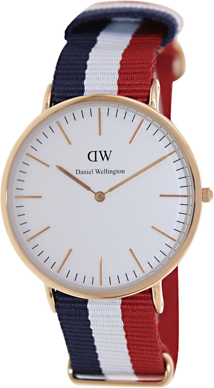 Daniel Wellington Cambridge Multi  Nylon Men's Watch 0103DW