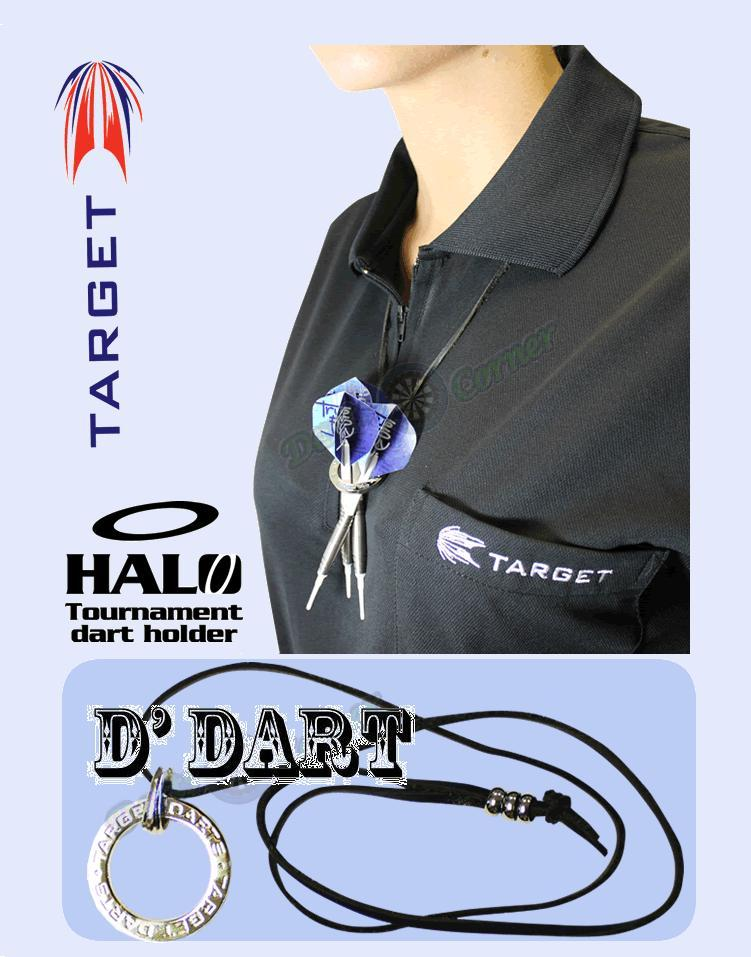 Dart Accessories - Target - Halo Darts Ring and Chain - Silver