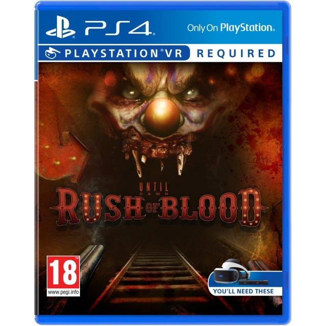 Until Dawn : Rush of Blood - Playstation 4 VR