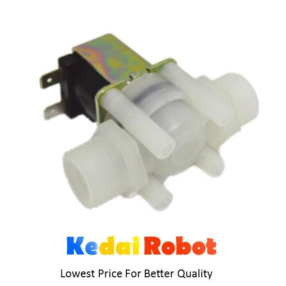 DC 12V Solenoid Electronics Water  Pipe Valve 1/2 , in inch