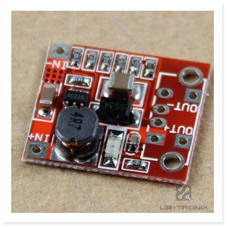 DC-DC Converter Step Up Boost Module 1A 3V to 5V for Arduino