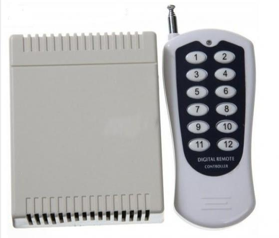 DC12V 12 CH RF Wireless Remote Control Switch