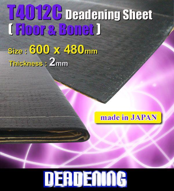DEADENING JAPAN T4012C 4 Sheet Sound Proof Made In Japan Best Recommen