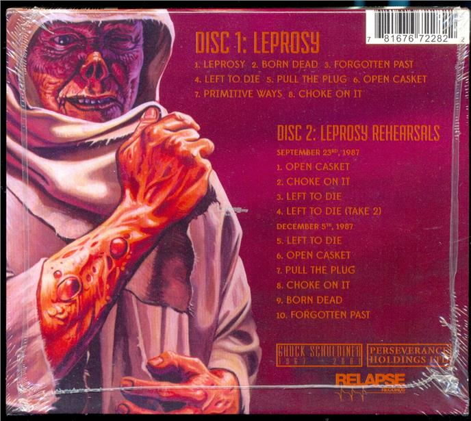 Death - Leprosy - New Metal CD