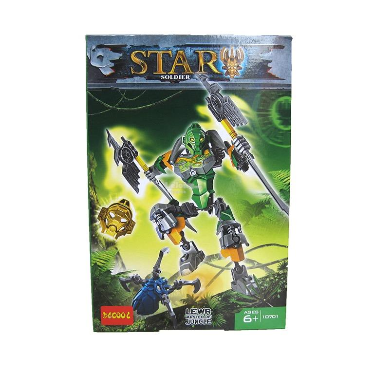 Decool 10701 Bionicle Lewa Master of Jungle