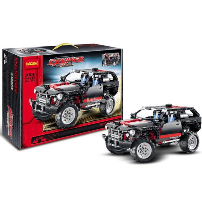 Decool 3341 Technic Extreme Cruiser (589pcs)